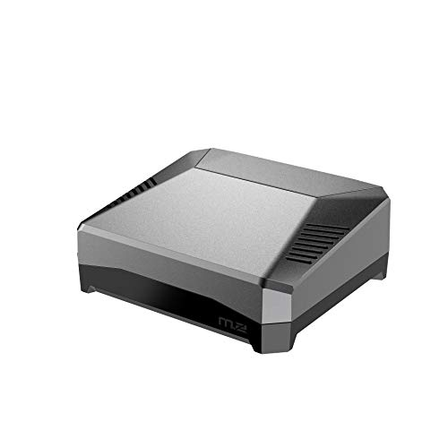 Argon ONE M.2 - Funda para Raspberry Pi 4 (Argon M.2 CASE SOLAMENTE)   Soporte SSD SATA   Compatible con llave B y B+M