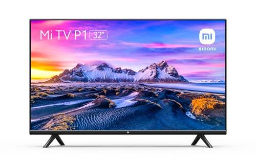 Xiaomi Smart TV P1 32 Pulgada (Frameless, HD, Triple Sintonizador, Android 9.0, Video, Netflix, Google Assistant, Bluetooth, 3 HDMI, 2 USB) [Modelo 2021]