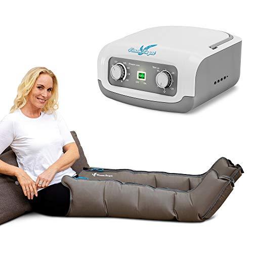 Venen Engel 4 aparato de masajes con botas para las piernas, 4 cámaras de aire, presión y tiempo fácilmente configurables