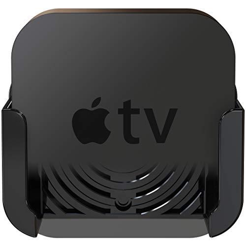 Innovelis TotalMount - Soporte para el Apple TV 4 con adaptador para el antiguo Apple TV 2 y 3, Negro