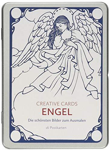 Engel (Creative Cards): Die schönsten Bilder zum Ausmalen